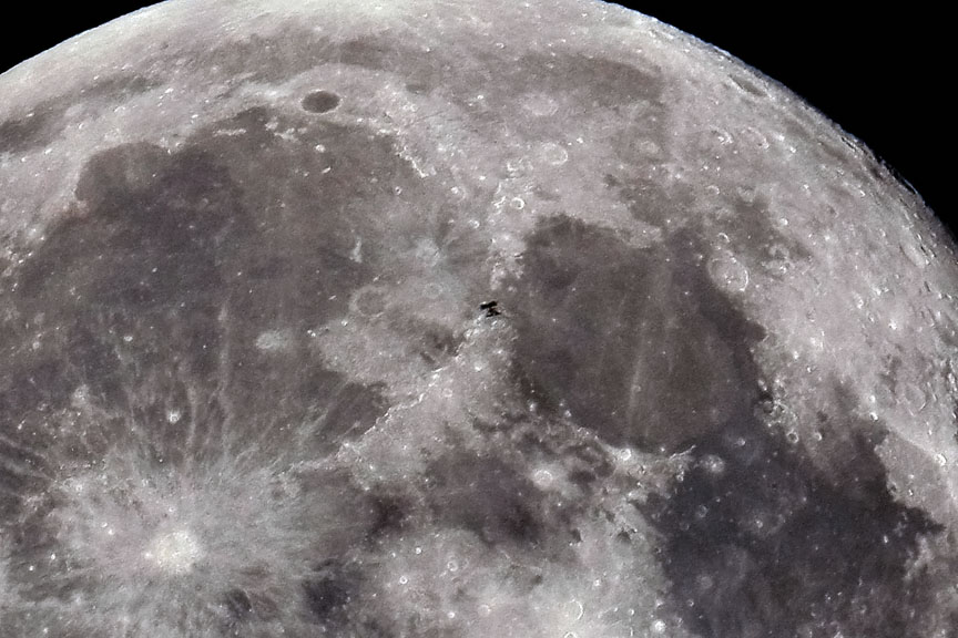 space station lunar transit - photo #22