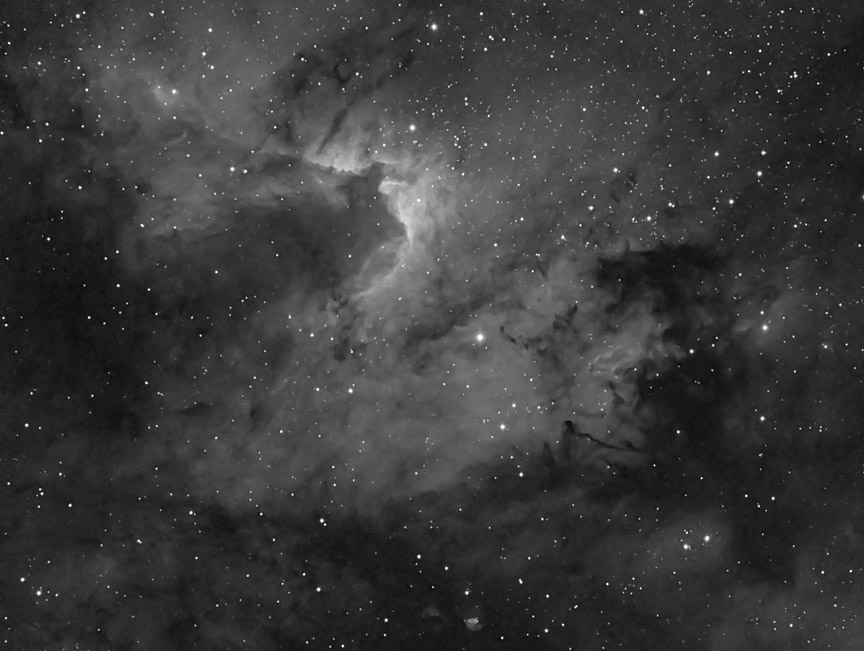 cave nebula narrow band - photo #6